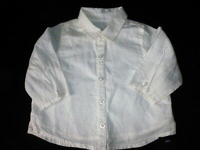 Baby Girls Cream Blouse Size 0-3 months from M&S Autograph bnwt