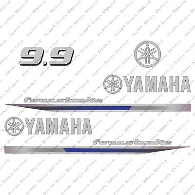 Yamaha 90HP Four Stroke Outboard Engine Decals Sticker Set reproduction 2013