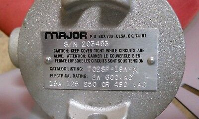 Major 702Sf-19A-N  Float Valve   In Explosion Proof Stainless Steel Housing