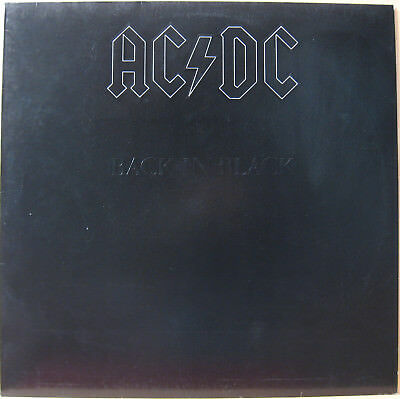 "12"" LP - AC / DC - Back in Black - Hard & Heavy - near mint"