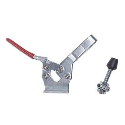 Red Handle Toggle Clamp Tool For 227Kg 500 Lbs Holding Capacity 225D
