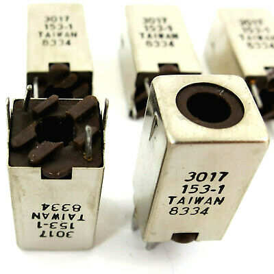 8x TOKO RCL MURATA VARIABLE INDUCTORS 1.8-2.2 uH SHIELDED 10.7 MHz IF 3017 153-1