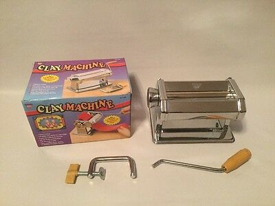 Nicole Quality Value Stainless Steel Clay Pasta Rolling Machine Model CLY 050