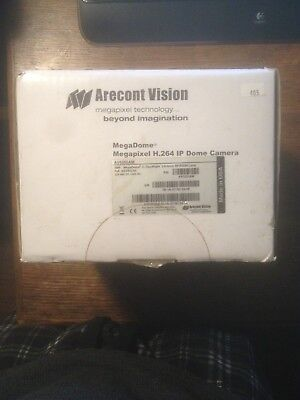 Arecont Vision AV5255AM MegaDome Megapixel H.264 IP Dome Camera New In Box