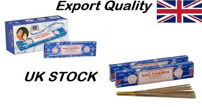 Original Export Quality only Satya Sai Baba Nag Champa Incense Sticks Agarbatti