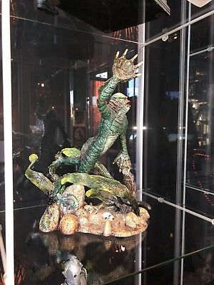 The Creature From The Black Lagoon Figure Resin Statue Display Fish Tank Ready