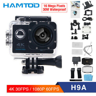 "4K 2"" 16MP 1080P WIFI Waterproof Sports Action Camera DVR HDMI Recorder Go Pro"