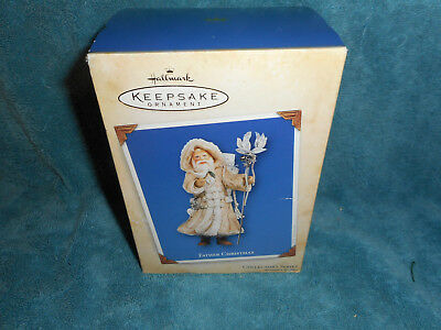66-Hallmark 2004 FATHER CHRISTMAS Ornament #1 in SERIES NIB