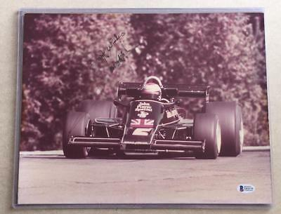 MARIO ANDRETTI original signed 11x14 photo AUTOGRAPH Beckett certified