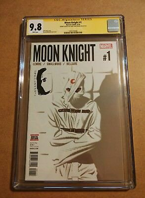 Moon Knight #1 CGC Signature Series SS 9.8 Greg Smallwood Signature & Sketch