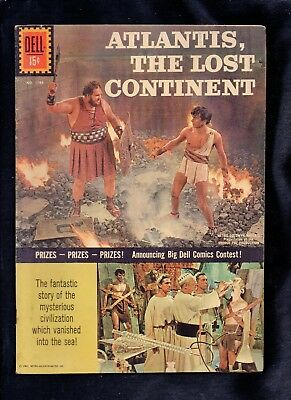 Four Color #1188 Vg  (Atlantis The Lost Continent) Photo Cover 1961 Dell