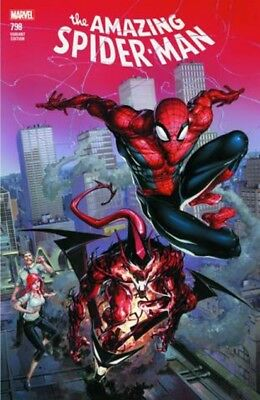 Amazing Spider-Man #798 Clayton Crain Exclusive Red Goblin Color Variant 4/11/18