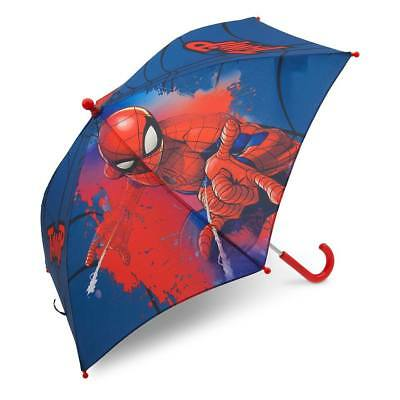 Disney Store Spider Man Super Hero Umbrella Boys Gift New with Tags
