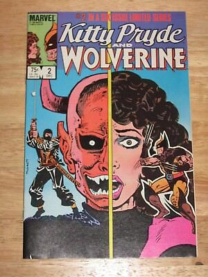 Kitty Pryde And Wolverine 2  Unread High Grade  Marvel Comics