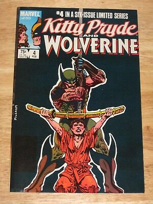 Kitty Pryde And Wolverine  4  Unread High Grade  Marvel Comics