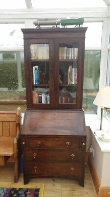 Antique Bureau Bookcase Display