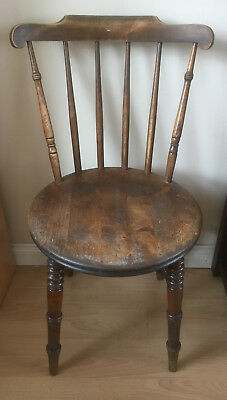 Ibex Country Antique Kitchen Chairs Swedish Pine Circa 1900