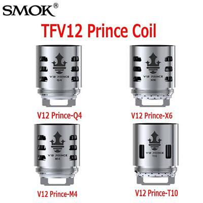 SMOK TFV12 PRINCE Replacement Coils - Q4 | M4 | X6 | T10 | 3 COILS  CHEAPEST