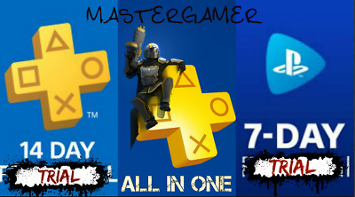 14 Day PS PLUS + 7 Day PS NOW TRIAL - PS4 - PS3 - PS Vita-PlayStation (NOT CODE)