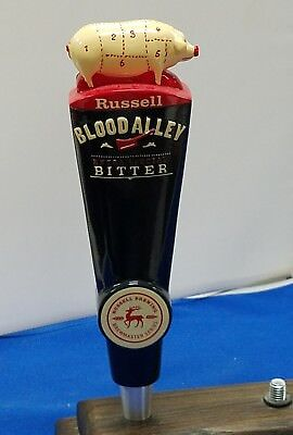 *Very Rare* Russell Blood Alley Extra Special Bitter Beer Tap Handle