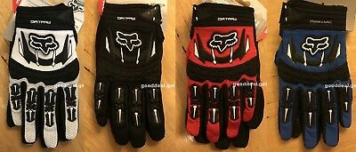 Fox Racing Dirtpaw MX Motocross Race Off-Road ATV Dirt Bike Gloves
