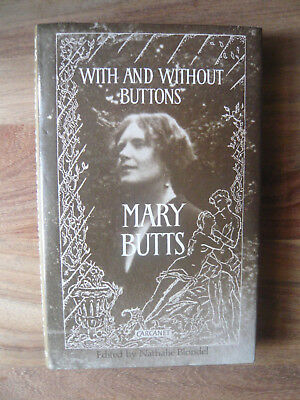 With And Without Buttons By Mary Butts. First Edition 1991
