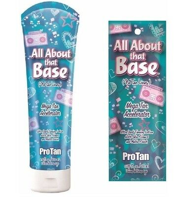 Pro Tan - All About That Base - Sunbed Tanning Lotion Cream - Sachet & Bottle