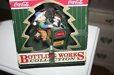 1996 Coca Cola Bottling Works Collection Ornament/New in Box