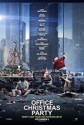 Office Christmas Party  - original DS movie poster - 27x40 D/S