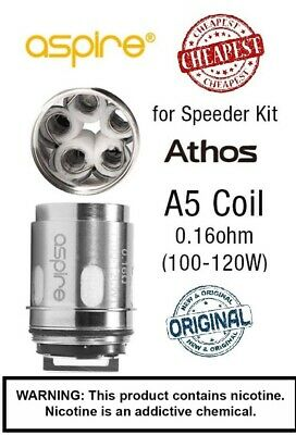 Aspire Athos A5 0.16 ohm Replacement Coils ORIGINAL ASPIRE GENUINE