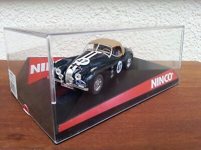 Ninco 50317 Jaguar XK-120 Alpen rally  Slot Car 1:32
