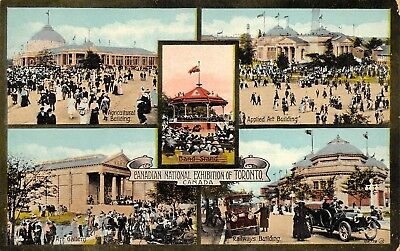 Toronto Canada c1910 Postcard Canadian National Exhibition of Toronto