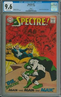 SPECTRE #2 CGC 9.6 OFFWHITE pages CIRCLE 8 PEDIGREE - NEAL ADAMS c/a & interview