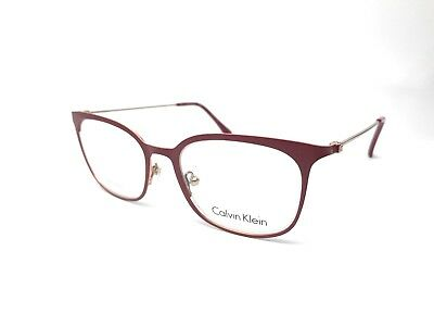 87759fc1578 New Calvin Klein Ck5432 615 47Mm Burgundy Eyeglasses Rx Optical