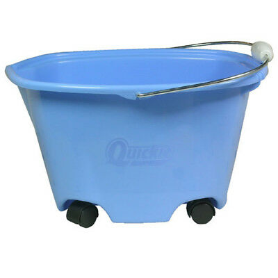 Quickie 5-Gallon Heavy-Duty Residential Multi-Purpose Cleaning Bucket w/ Wheels