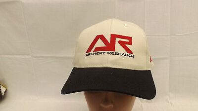 3ffa99048d7 ARCHERY RESEARCH PSE Bow Hunting Tan Black Fitted Ball Hat Cap NEW Sewn Logo