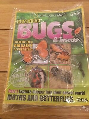 National Geographic Real-Life Bugs & Insects Magazine Issue 86