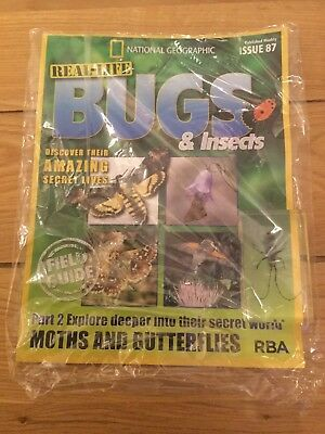 National Geographic Real-Life Bugs & Insects Magazine Issue 87