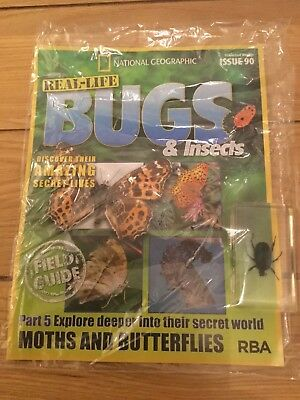 National Geographic Real-Life Bugs & Insects Magazine Issue 90