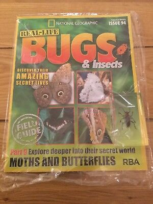 National Geographic Real-Life Bugs & Insects Magazine Issue 94