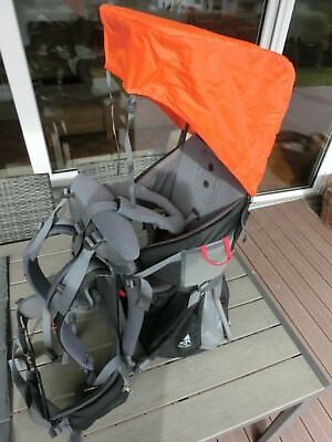 VAUDE Jolly Light, Kraxe, Kindertrage, Rückentrage, kpl. mit Zubehör, TOP