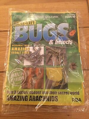 National Geographic Real-Life Bugs & Insects Magazine Issue 60