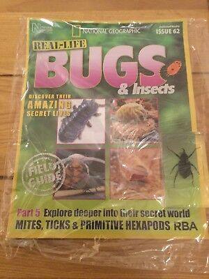 National Geographic Real-Life Bugs & Insects Magazine Issue 62