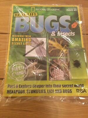 National Geographic Real-Life Bugs & Insects Magazine Issue 63