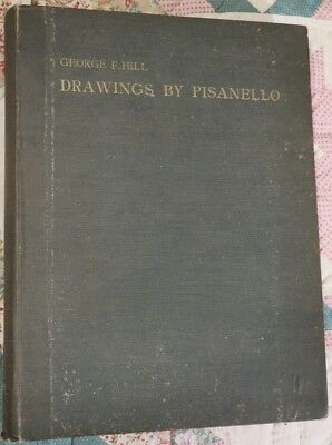 1929 Folio Book,Drawings By Pisanello...Notes,Renaissance Master,illustrations