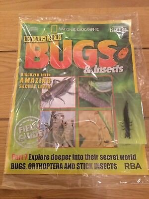 National Geographic Real-Life Bugs & Insects Magazine Issue 64