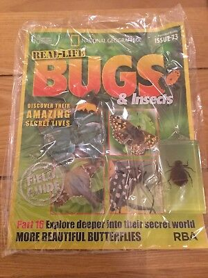 National Geographic Real-Life Bugs & Insects Magazine Issue 73