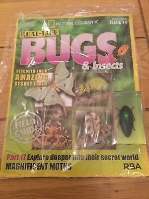 National Geographic Real-Life Bugs & Insects Magazine Issue 74