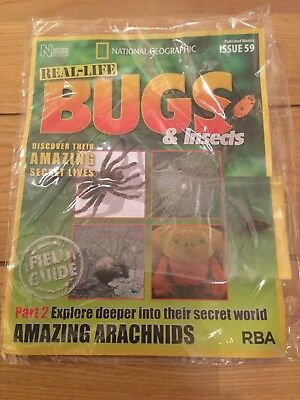 National Geographic Real-Life Bugs & Insects Magazine Issue 59