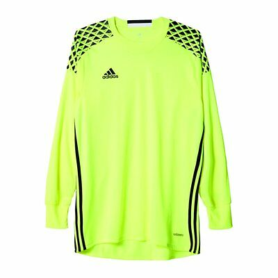de24be542 ADIDAS YOUTH ONORE 16 Goalkeeper Jersey Solar Lime Raw Lime Black ...